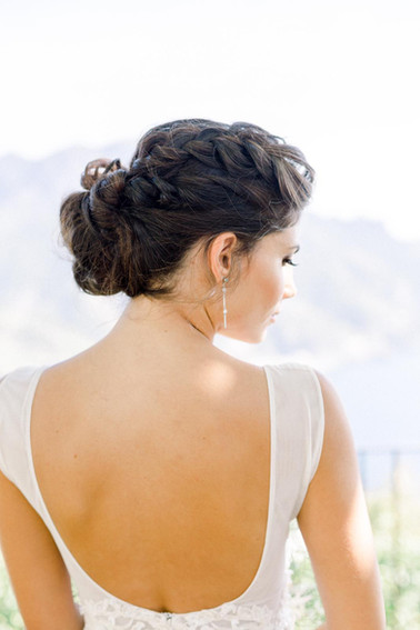 F's beautiful hairstyle by Anna Jazelle Beauty