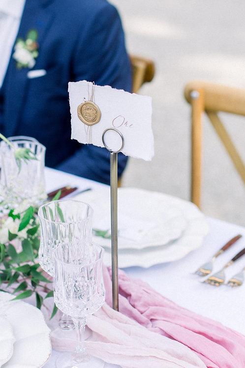 Table Name Holder (Brass)