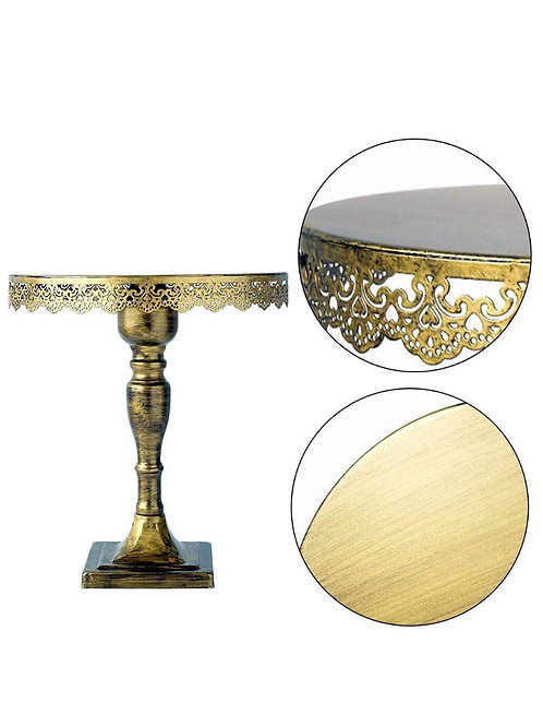 Cake Stand (Tall Gold)