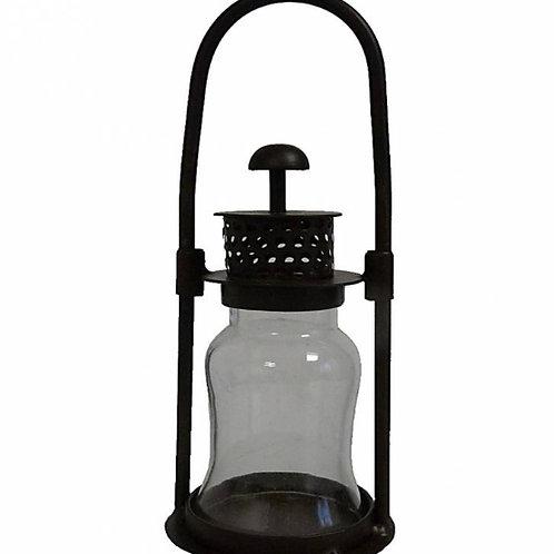Iron Hurricane Lanterns (Round Handle)