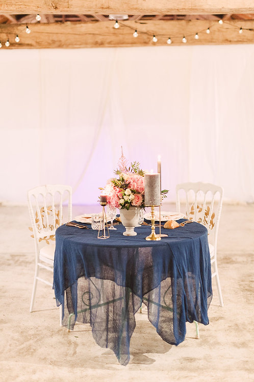 Cheesecloth Table Covering