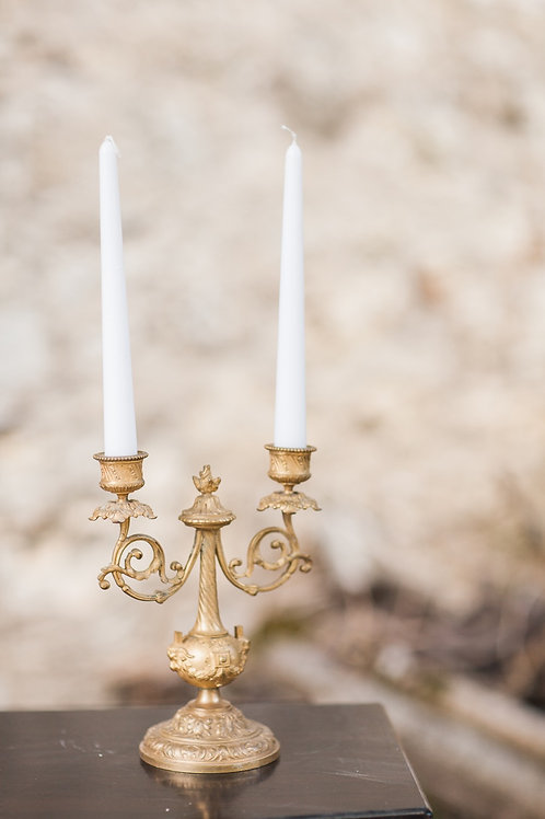 Ornate Gold Candelabras