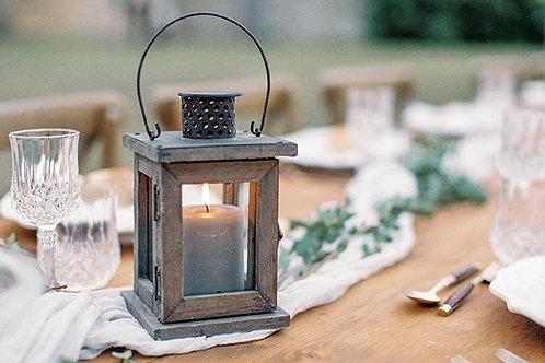 Small Wooden Lanterns