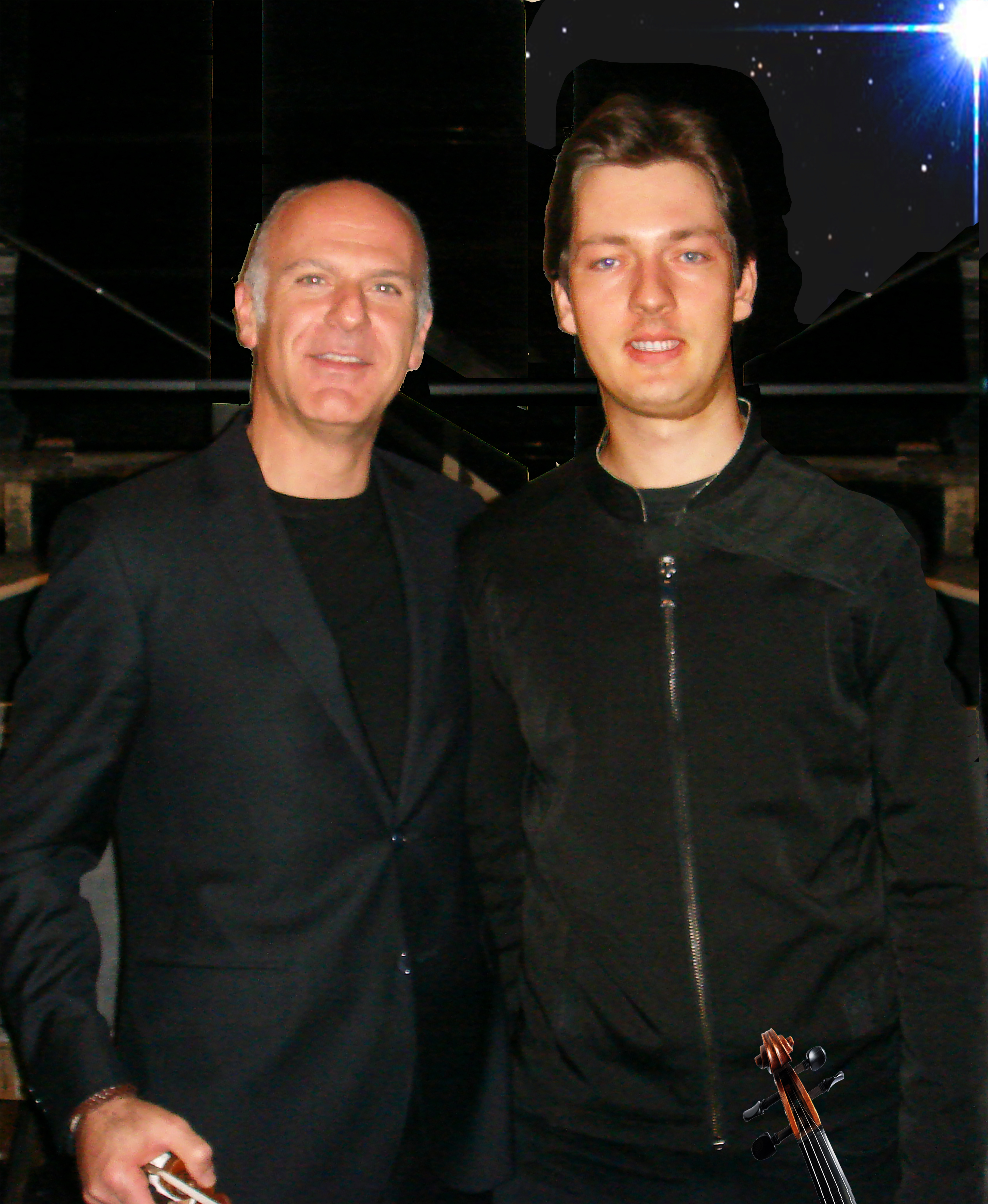 Massimo Quarta e O.Pushkarenko