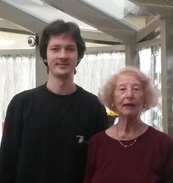 Beatrice Invernizzi con O.Pushkarenko