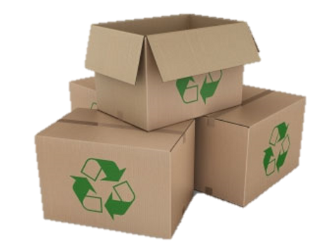 Recycled moving carton