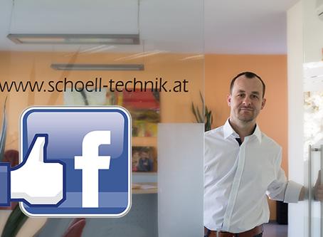 Spät aber doch: wir sind auf Facebook!