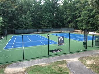 Tennis Court Repair and Resurface