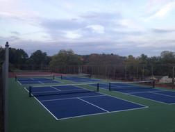 Repurposed Pickleball courts
