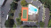 Gateway Apartments Tennis Court Repair