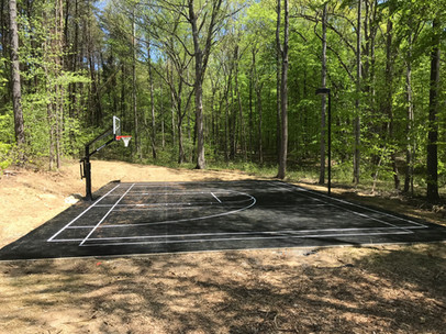 Basketball/Volleyball court