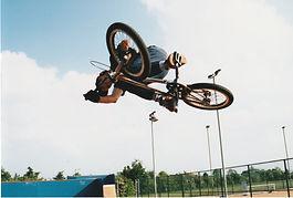 BMX Cyclist wheels