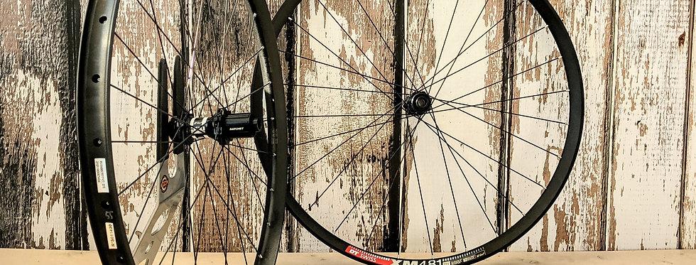 DT Swiss XM481 27.5 350 CL non-boost Handbuilt wheels