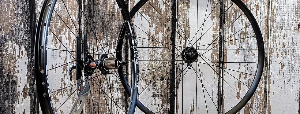 "DT Swiss E512 27.5"" Bitex MT Quick Release MTB wheels"
