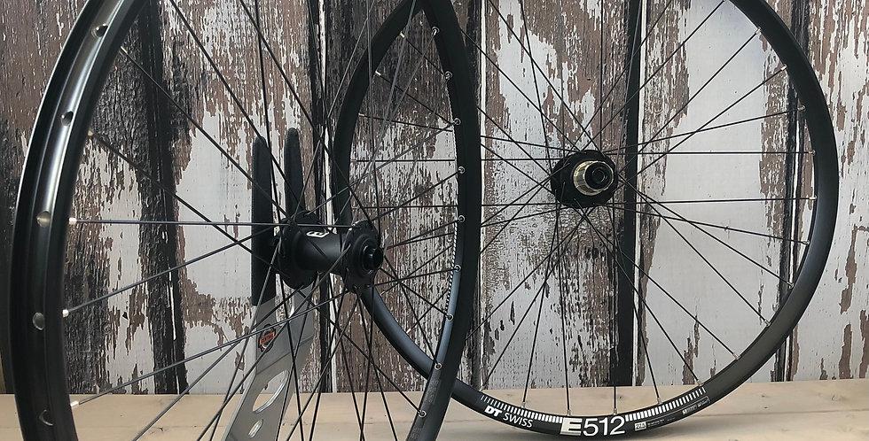 """DT Swiss E512 27.5"""" / Octane One Non-Boost / Sapim Hand Built MTB wheels NEW"""