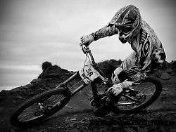 Downhill MTB Rider