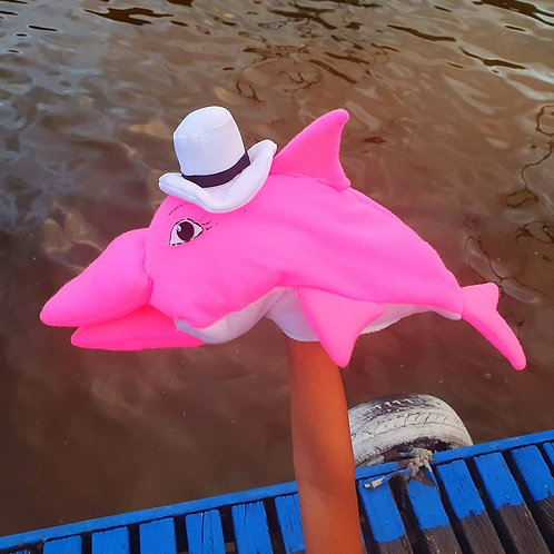 Fantoche - Boto cor-de-rosa