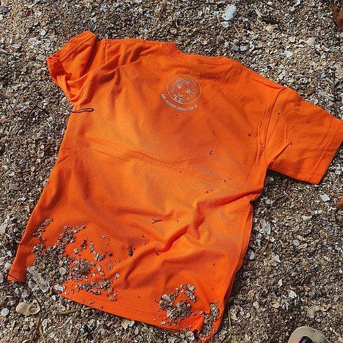 Camiseta laranja adulto - Ribeirão da Ilha