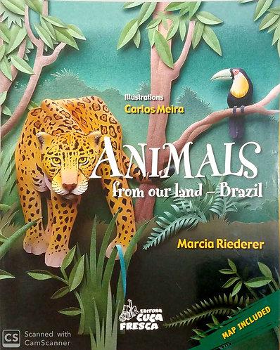 Animals From our land - Brazil - versão em inglês.
