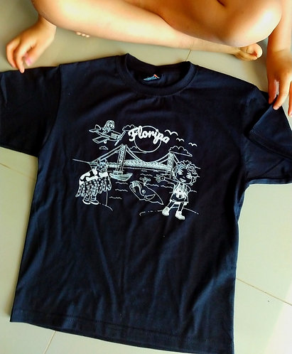 Camiseta Adulto Preta