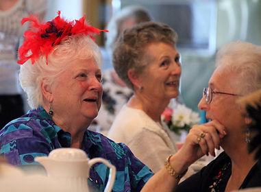 Ferndale Senior Activity Center, Ladies Tea