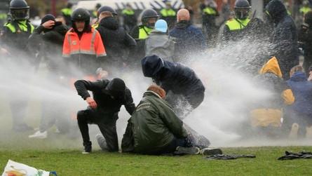 Violent Riots in The Netherlands
