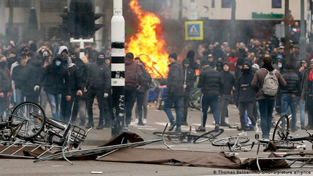 Violent Riots in The Netherlands