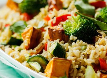 Wild Rice & Sweet Potato Salad