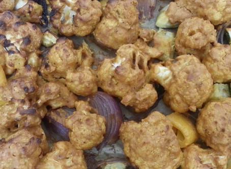 Roasted Spicy Cauliflower