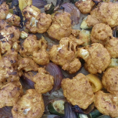 Roasted Spicy Cauliflower