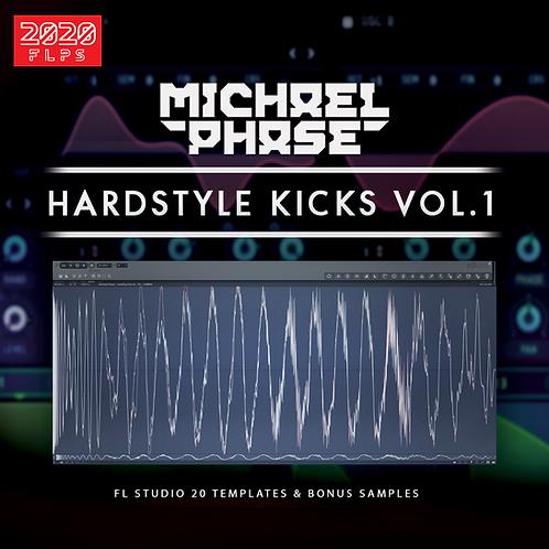 Hardstyle Kicks Vol.1 [FL.Studio 20 FLPs & Bonus Samples]