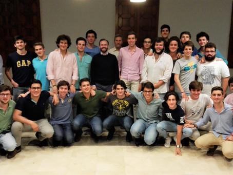 Encuentro con universitarios en Sevilla