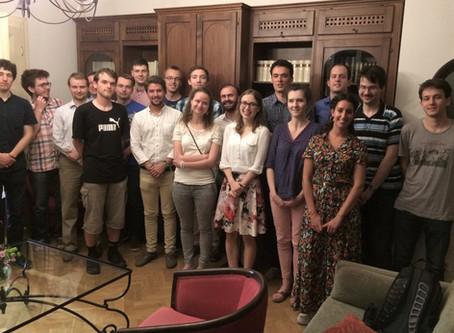 Encuentro con estudiantes universitarios de la República Checa