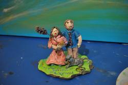 Wedding Cake Figurines for JB