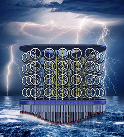 WindWAVE EnergyISLAND Lightning