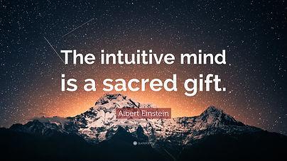 3780267-Albert-Einstein-Quote-The-intuit
