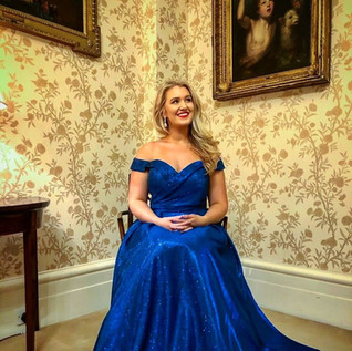 Semi-finalist in the Grange International Singing Competition