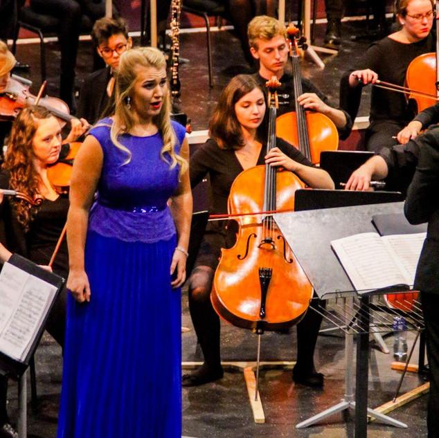 Lieder eines fahrenden Gesellen with Esker Festival Orchestra