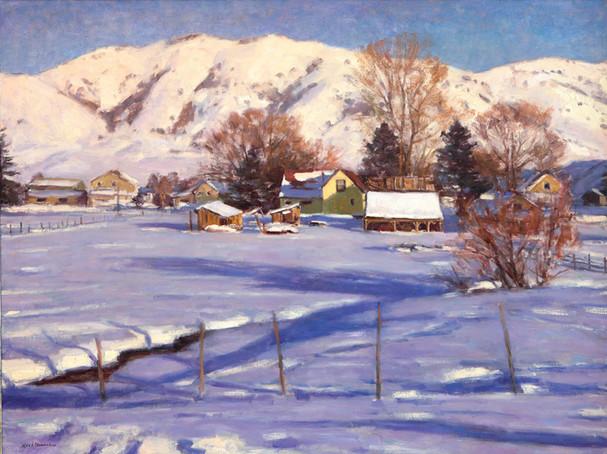 Utah Winter by Karl Thomas