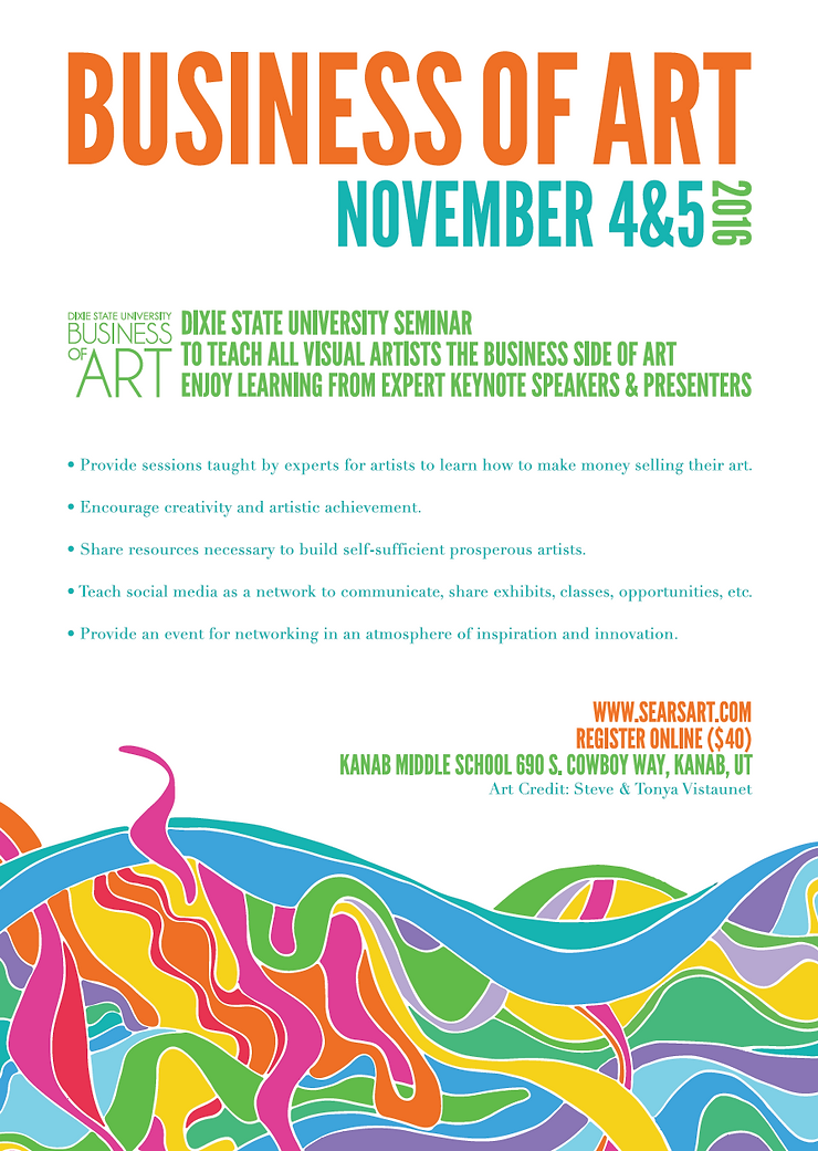 Dixie State University Business of Art Seminar