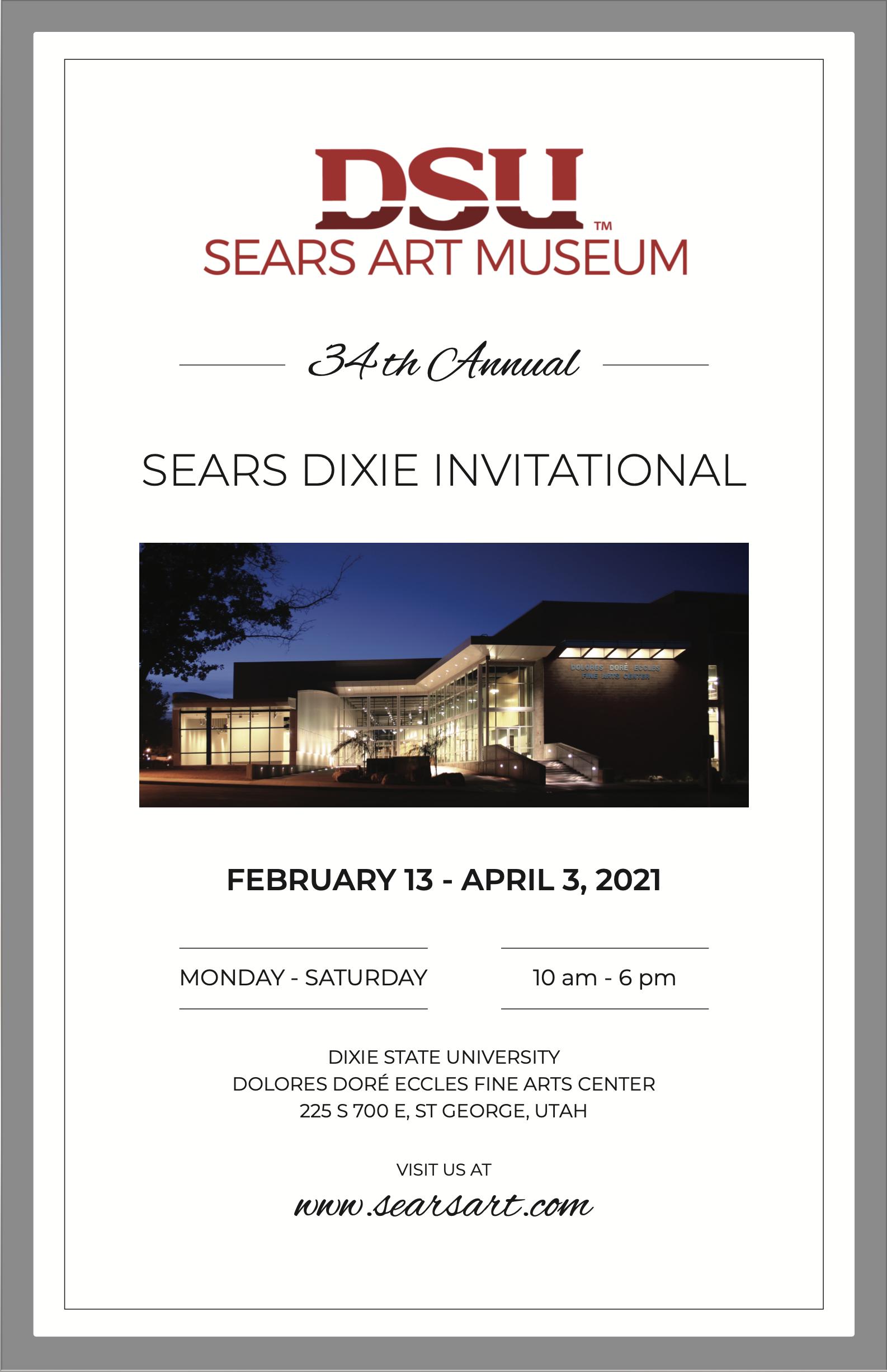 2021 Sears Dixie Invitational Art Show & Sale