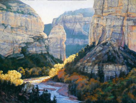 Canyon Dawn by Arlene V. Braithwaite