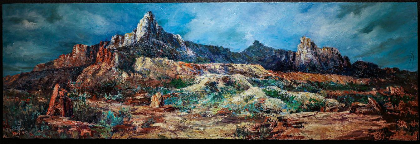 Anasazi Plateau - Zion Park