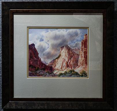 Abraham Peak in Zion National Park