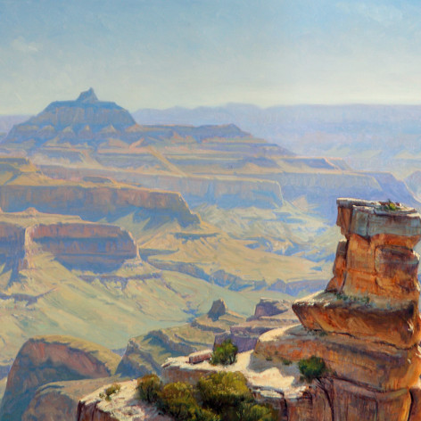 Looking Over Grandview Point by Kimball Warren