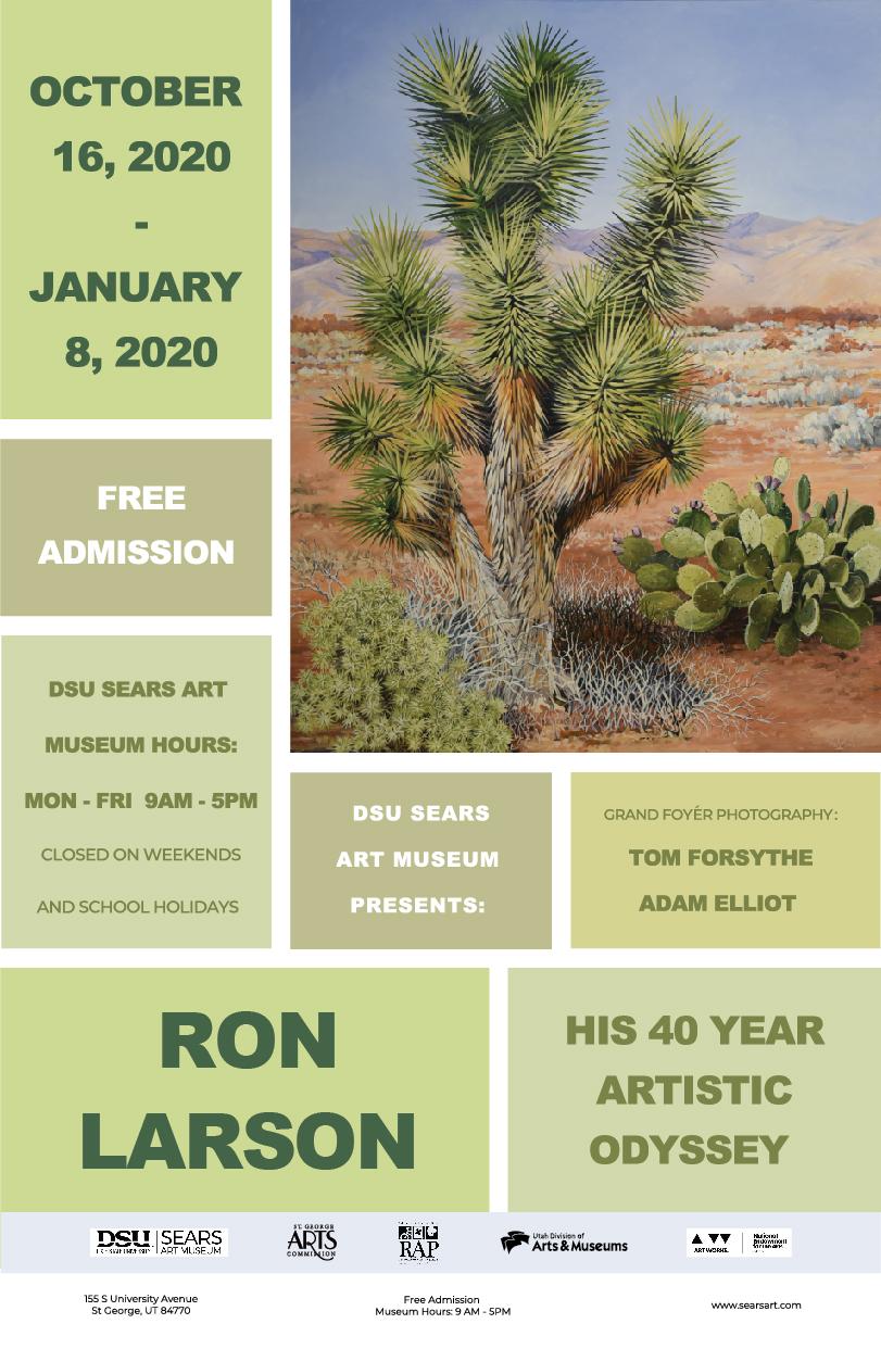 Ron Larson - His 40 Year Artistic Odyssey