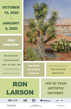 Ron Larson - His 40 Year Artistic Odyssey