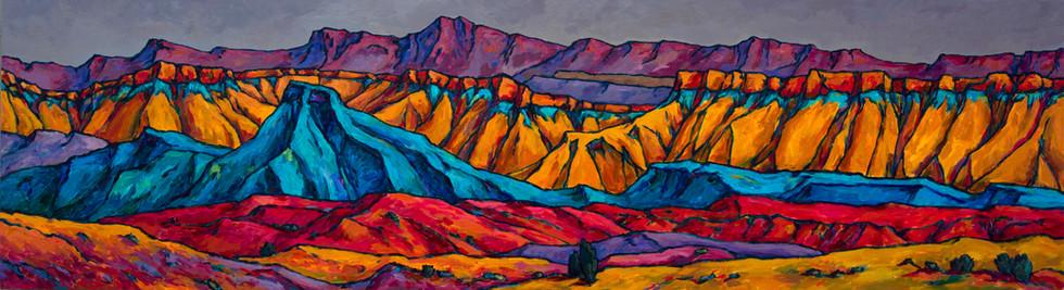 Book Cliffs II by Royden Card
