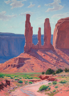 Monument Valley by Kimball Warren