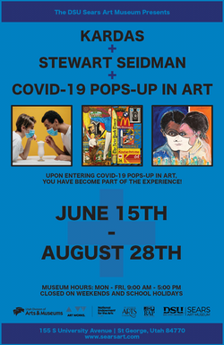 COVID POPS-UP IN ART